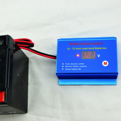 36V battery reconditioner desulfator